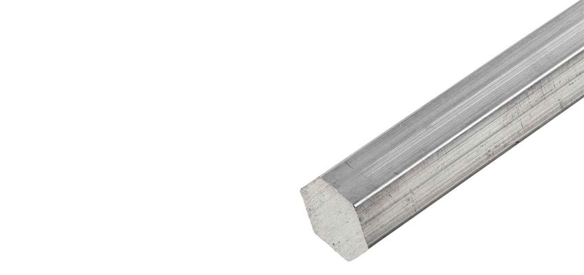 Aluminium Alloy 6063 Hex Bars, Alloy 6063 Hex Rods Manufacturer